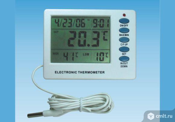 Продам цифровой термометр для аквариумов и террариумов. Фото 1.