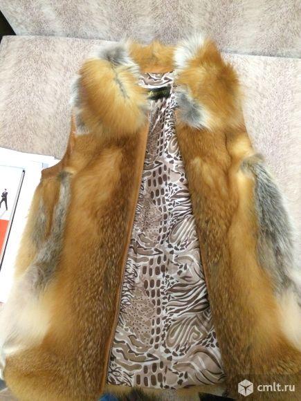 Продаю натуральную жилетку из лисы.. Фото 7.