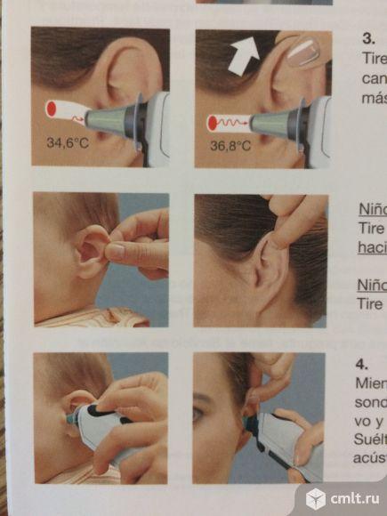 Электронный ушной термометр Braun Германия