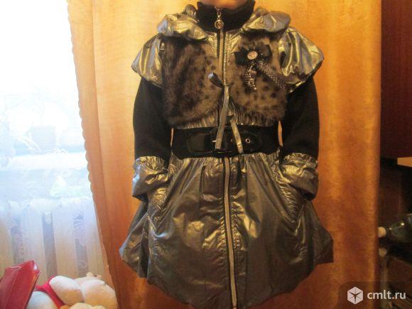 Утепленное пальто весна-осень