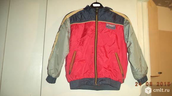 Продам осеннюю куртку для мальчика
