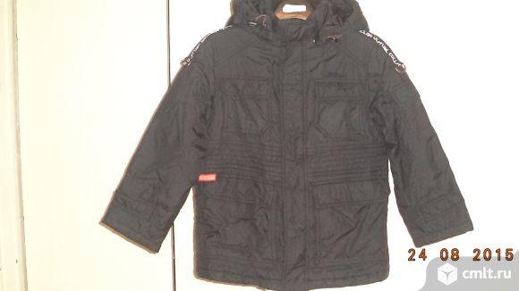 Куртка утеплённая для мальчика 7-8 лет