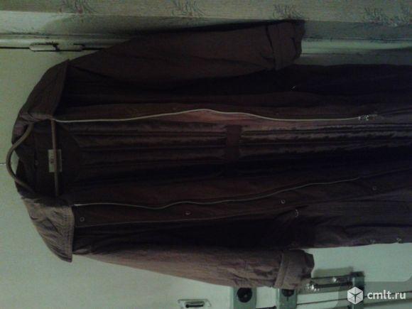Женское пальто большого размера. Фото 1.
