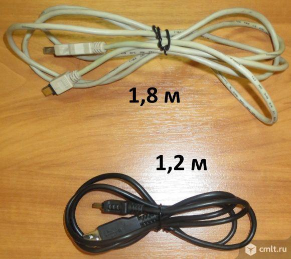 Продам два кабеля USB - micro USB черный 1,2 м и белый 1,8 м
