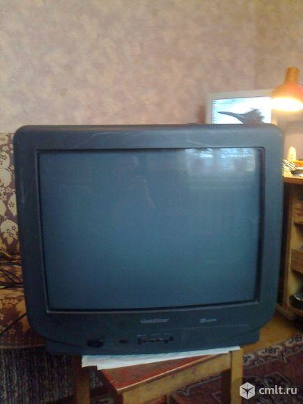 Телевизор кинескопный цв. GoldStar. Фото 1.