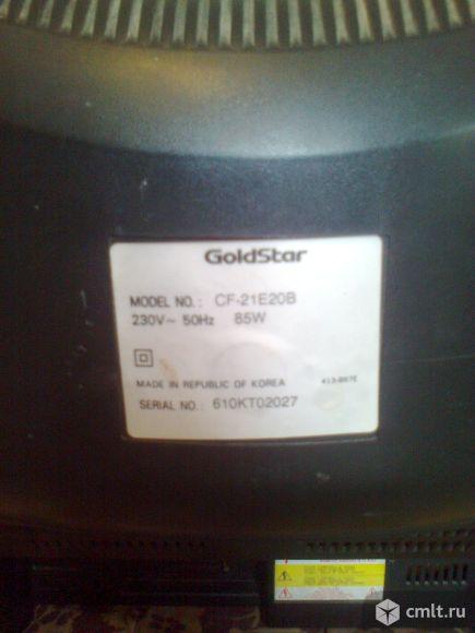 Телевизор кинескопный цв. GoldStar. Фото 4.