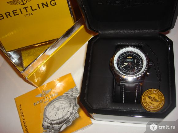 Продаю мужские швейцарские часы Breitling. Фото 1.