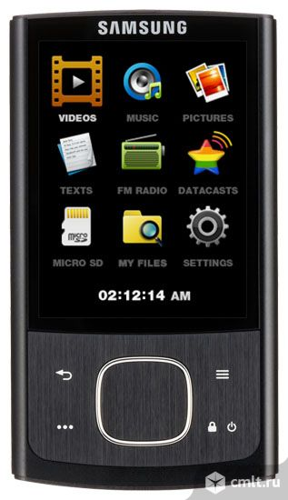Аудиоплеер MP3 Samsung YP-R0 4Gb (черный)