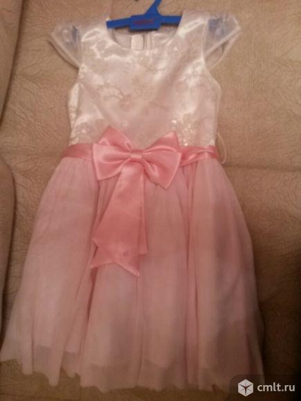 Нежное платье на пухляшечку. Фото 1.