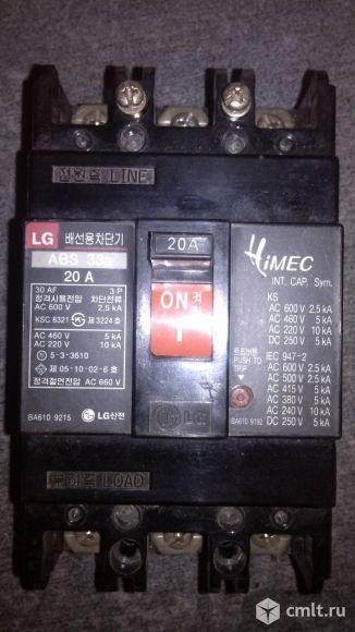 Выключатель автоматический трёхфазный ABS 33, 25А