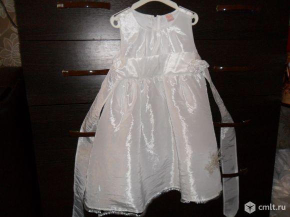Детское платье на 1-2года(86-92см) празничное новое