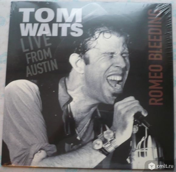 "Грампластинка (винил). Гигант [12"" LP]. Tom Waits. Live From Austin (Romeo Bleeding). 1978. Европа.. Фото 1."