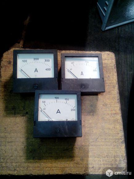 Амперметры 200, 300, 400 А, новые, 3 шт., по 350 р