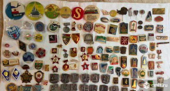 Собираю значки для коллекции. Фото 1.