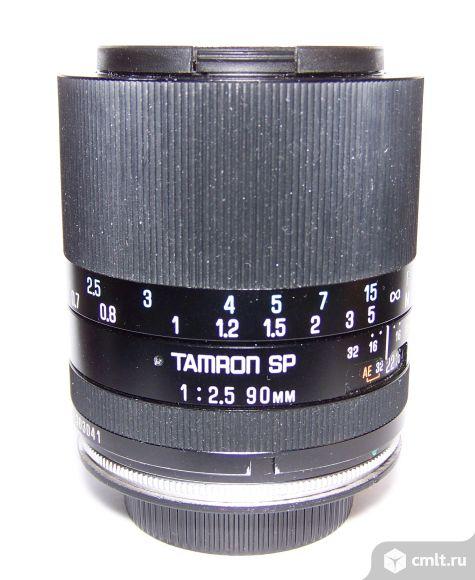 Tamron SP 90/2.5 MC Tele Macro (на любую систему). Фото 1.