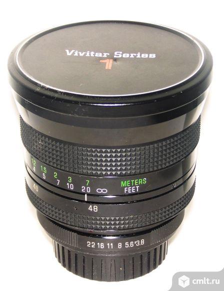 Объективs Vivitar S1 24-48/3.8 vmc, разные на любую систему. Фото 1.