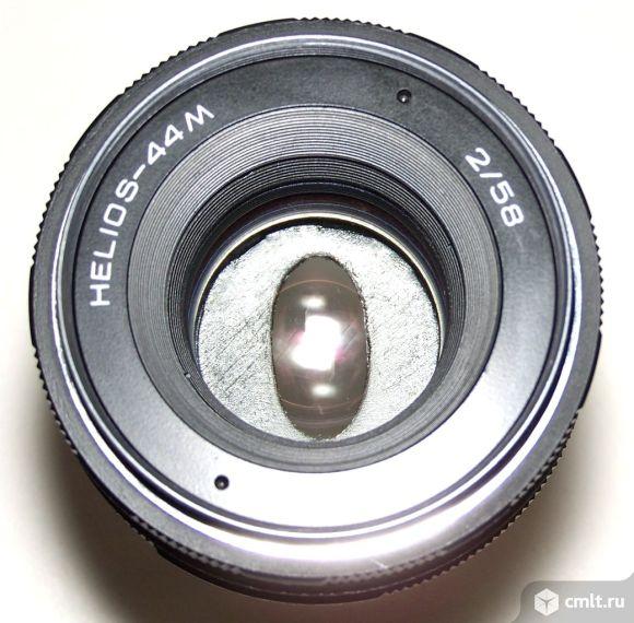 Анаморфный HELIOS-44М, Nikon, Macro + адаптер. Фото 1.
