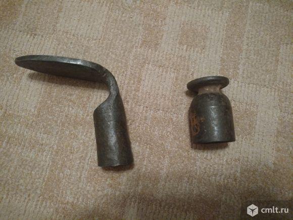 Набор для сапожной лапки для ремонта обувиНосок и пятка. Чугун