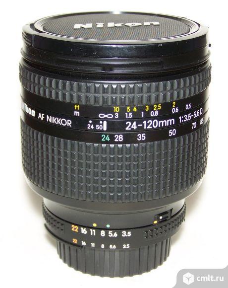 Nikkor AF 24-120/3.5-5.6D, макро-режим + бленда. Фото 1.