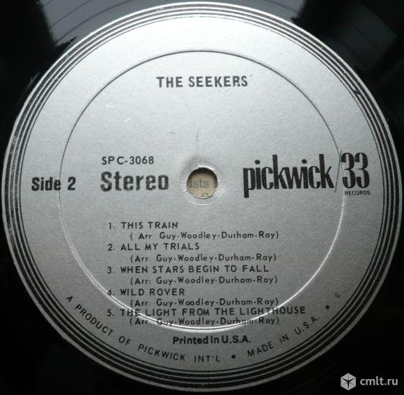 "Грампластинка (винил). Гигант [12"" LP]. The Seekers. 1967. Pickwick. SPC-3068. U.S.A. Rock, Folk.. Фото 8."