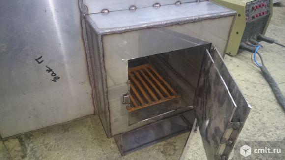Печь банная из нерж.