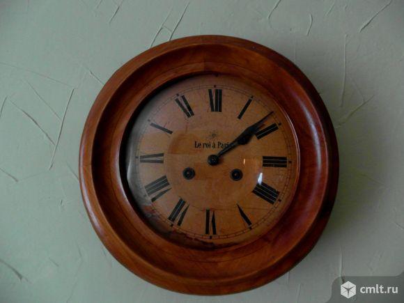 Антикварные кабинетные часы. Фото 1.