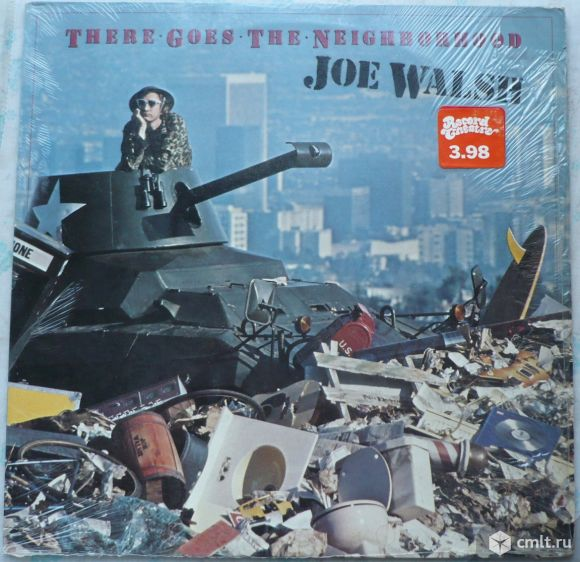 """Грампластинка (винил). Гигант [12"""" LP]. Joe Walsh. There Goes The Neighborhood. 1981. Германия.. Фото 1."""