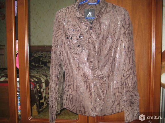 Пиджак-ветровка на молнии