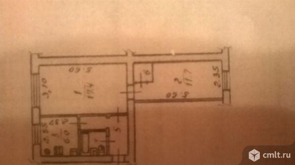 2-комнатная квартира 43,2 кв.м
