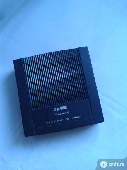 Модем  ZyXEL P-660RT2 EE. Фото 1.