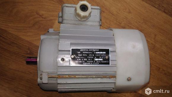 Электродвигатель 0.37 квт 2750 об 36 V. Фото 1.