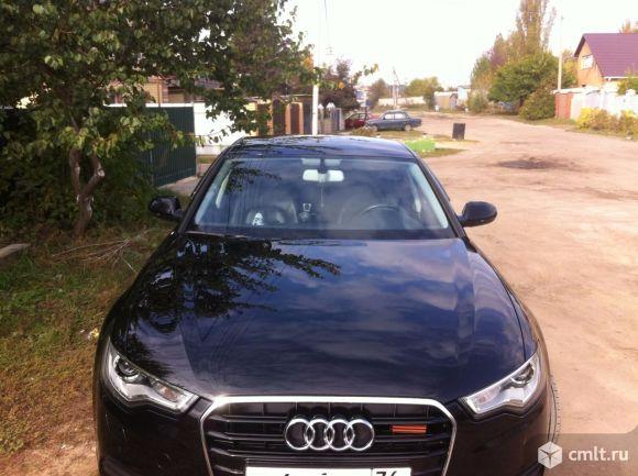 Audi A6 - 2012 г. в.. Фото 1.