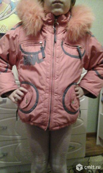 Зимняя куртка donilo+жилетка