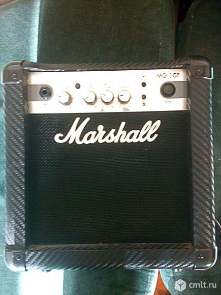 Гитарный комбоусилитель Marshal MG10CF combo для электрогитар