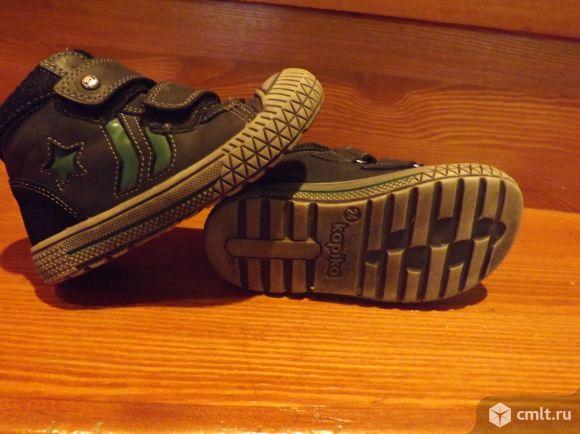 Ботинки кожаные Kapika