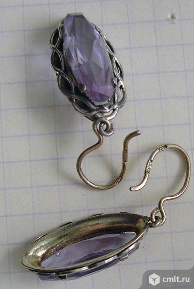 Серебряные серьги. Фото 3.