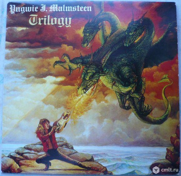 "Грампластинка (винил). Гигант [12"" LP]. Yngwie J. Malmsteen. Trilogy. 1986. Sung Eum. Южная Корея.. Фото 1."