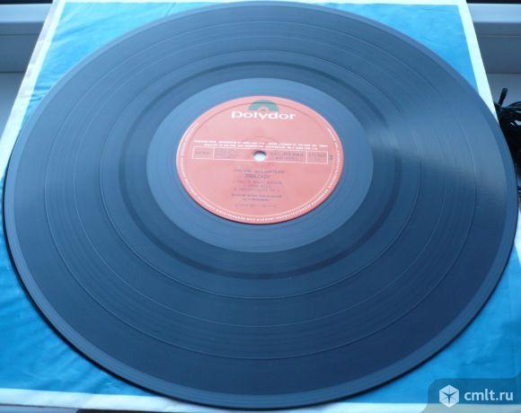 "Грампластинка (винил). Гигант [12"" LP]. Yngwie J. Malmsteen. Trilogy. 1986. Sung Eum. Южная Корея.. Фото 8."