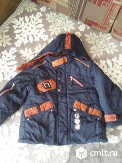 Куртка зима на мальчика. Фото 1.
