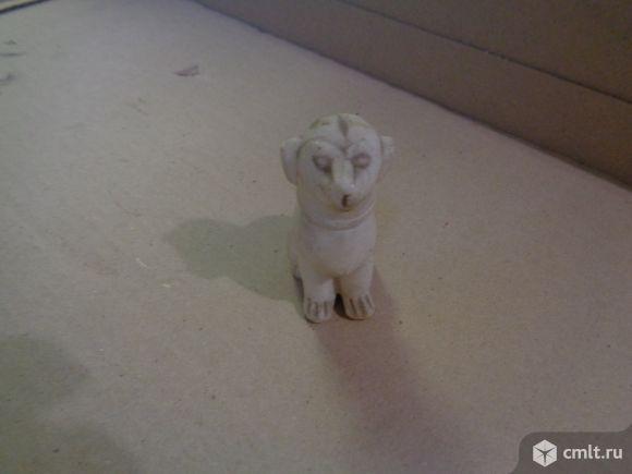 Ретро подстаканники, бюст Ленина, собачка фарфоровая. Фото 3.
