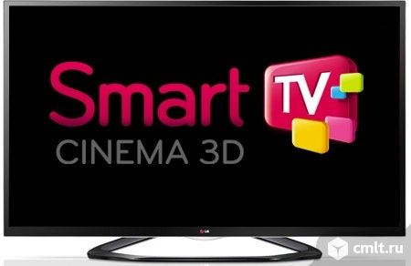 LG 42LA644V 3D Smart TV 200 Гц WI-FI. Фото 1.