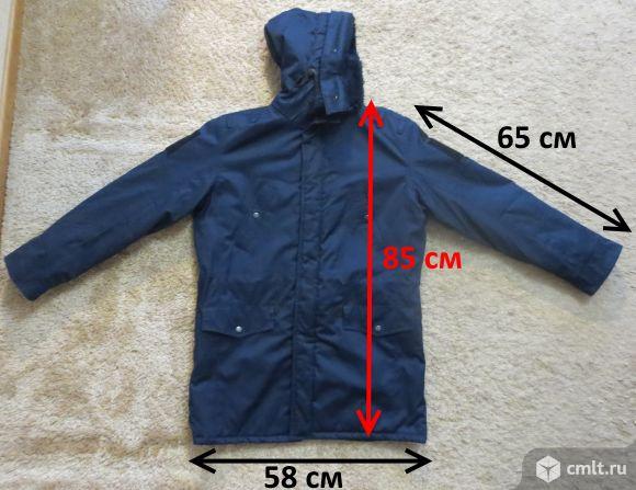 Продам военную куртку синюю на синтепоне в хорошем состоянии. Размер 48-50, рост 170 см. Фото 1.