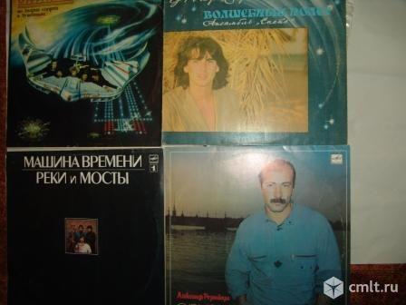 Пластинки с русским роком. Фото 1.