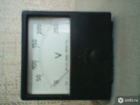 Продается вольтметр переменного напряжения 0-250В. Фото 2.