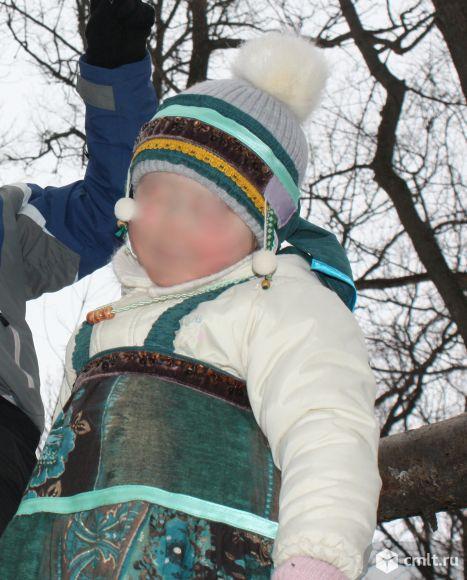 Набор (сарафан и головной убор) праздничный, народный