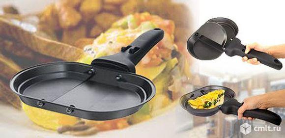 Сковорода с откидными пластинами для рулетов