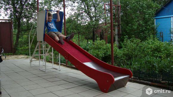 Массажная роликовая горка высотой 120 см. Фото 1.