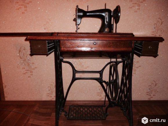Швейная машина (Начало XX века). Фото 1.