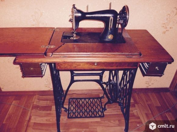 Швейная машина (Начало XX века). Фото 3.