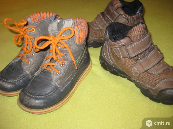 Ботиночки и кроссовки для мальчика. Фото 1.